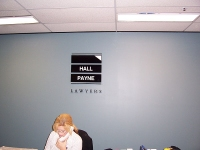 Hall & Payne Lawyers Office Signage
