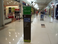 Oxley Shopping Centre Directional Signage