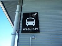Bus Wash Bay