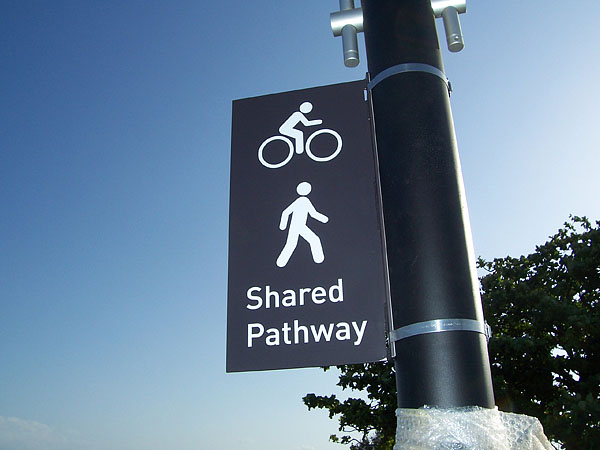 Shared Pathway Signage