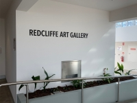 Redcliffe Art Gallery Exterior Lettering