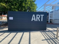 Redcliffe Art Gallery External Letters