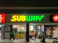 Subway Southport 3D Illuminated Letters