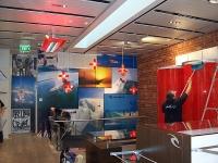 Rip Curl Interior Shop Graphics