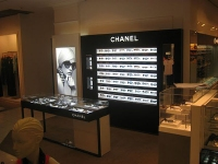 Chanel Department Store Stand