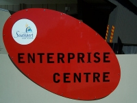 Southport Highschool Enterprise Centre Sign