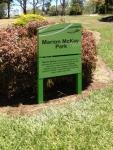 MBRC Park Sign