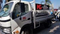 MG Bricklaying Truck Graphics