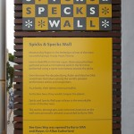 Bee Gees Way - Spicks and specks wall