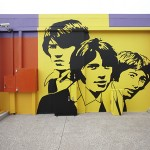 Bee Gees Way - Painted Mural